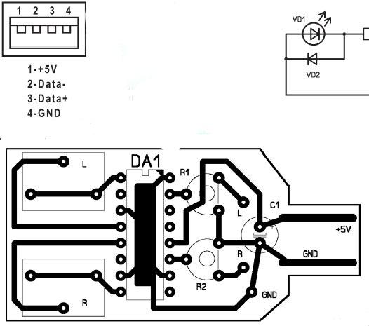схема коннектора